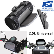Universal Motorcycle Bicycle Handlebar Bag Phone Case Front Storage Pouch US 1x
