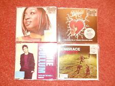4 Single CD's- The Darkness, Ebrace,Jamie Callum,Beverly Knight