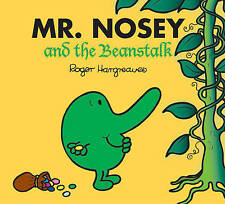 NEW sparkly MR NOSEY and BEANSTALK (BUY 5 GET 1 FREE book) Little Miss Men