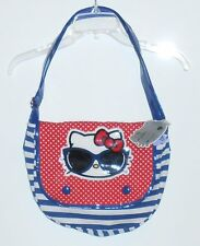 Hello Kitty by Sanrio Loungefly Flap Front Shoulder Crossbody Handbag NWT