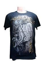 Men Absolute 100% Cotton T-shirt Sz L Vtg Tattoo Dark Legend  ( a65)