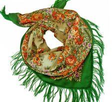 Pur naturel 100% Merino laine Pavlovo Posad Femmes Châle Foulard 89x89 cm Russe