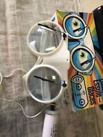 Vintage Lunettes Essuie-Glaces In Original Box Clear Glasses