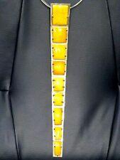Michael Goloshchapov Bernstein Halskette Amber Necklace Polen Gdansk um 1970