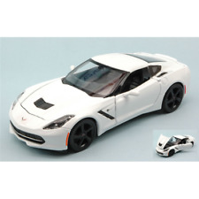 CHEVROLET CORVETTE STINGRAY 2014 WHITE 1:24 Maisto Auto Stradali Die Cast