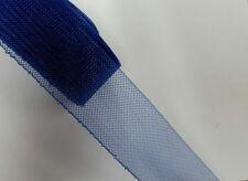 3 inch Horse hair braid stiff ,sold by 36 yards roll ,royal blue