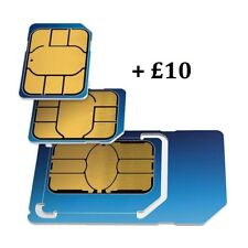 o2 SIM CARD | Pay as you go with £10 credit Preloaded, all Phones