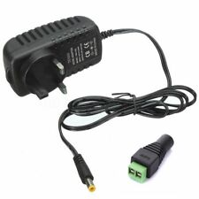 AC100-240V DC12V 2A 24W Power Supply Adapter 2.1 X 5.5mm For 5050/3528 LED Strip