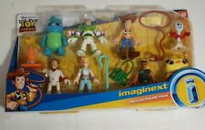 Toy Story 4 DELUXE FIGURE PACK Imaginext 8 adorable characters incl. Buzz& Woody