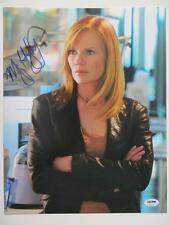 Marg Helgenberger Signed CSI Authentic Autographed 11x14 Photo PSA/DNA #P20131