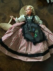 Antique German Doll, 14 Inches tall