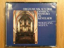 Orgelmusik aus der Basilika zu Kevelaer. W. Seifen (O). 2 CDs, DHM