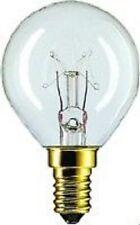 10 x Ampoule Gouttes de PHILIPS E14 25W transparent z.B pour Guirlande lumineuse
