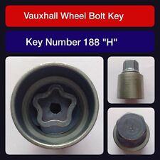 """Original Vauxhall Tornillo de fijación de la rueda / Llave para Tuerca 188""""H """""""