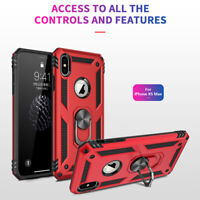 For Apple iPhone XS Max/XR/XS/X/8 Plus Tough Shockproof Armor Hybrid Case Cover