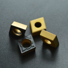 10pcs CCMT 09T3 04 -PM 4225 CCMT 32.51 - PM Grade 4225 CARBIDE INSERTS for steel