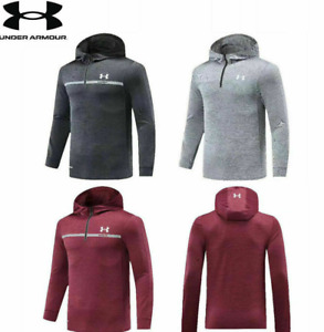 Under Armour UA Men's Half-Zip Hooded Pullover Casual Fitness