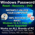 Windows Password Reset Recovery for All Windows Versions, MasterTech DVD
