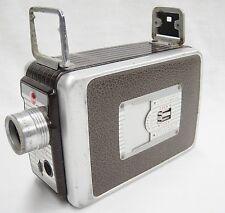 Vintage Kodak Brownie 8mm Movie Camera f/1.9 Lens 1950s As Is