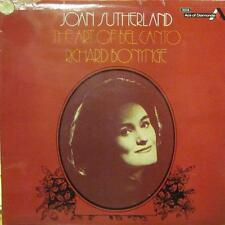Joan Sutherland(Vinyl LP)The Art Of Bel Canto-Decca-SDD 317-UK-VG/Ex