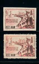 N.492-Vietnam-PROOF- Hồ Chí Minh with Flood Prevention 1986
