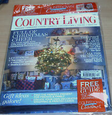 December Country Living Home Magazines