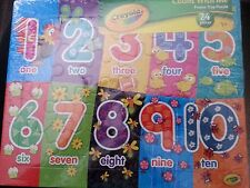 Set of 2 Puzzle Happy Chatter Puppies Kittens and Crayola Count with Me