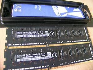 HYNIX PC3-14900E DDR3-1866MHz 8GB (2x4GB) 1RX8 for Apple MacPro 6.1 Dell