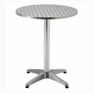 NEW! Aluminium Bistro Exhibition Table Bar Pub Cafe Party garden patio mental