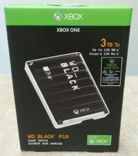 Western Digital WD_Black P10 Xbox 3TB Game Storage Drive - NEW, Sealed! - R282