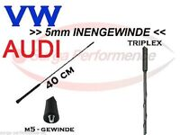 Autoantenne Stab Dach Radio Antenne FM AM 40cm 5mm innengewinde