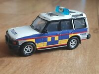 Motor Max Large 999 POLICE PATROL LAND ROVER DISCOVERY Diecast TOY CAR No 61054