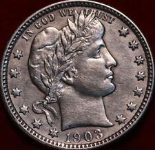 1903-O New Orleans Mint Silver Barber Quarter