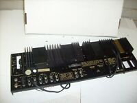 VINTAGE FISHER RS-1058 STEREO RECEIVER   - REAR PANEL