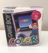 NINTENDO GAMEBOY COLOR JUSCO Mario / Boite et Notice / Jap