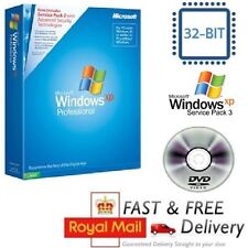 Windows XP Professional SP3 Con cert. de autenticidad licencia/clave del producto + CD System 32-bit