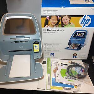 HP Photosmart A826 Digital Photo Inkjet Printer Photo Center TESTED