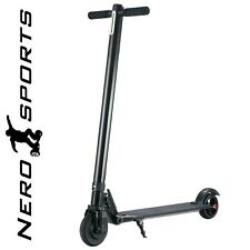Electric Scooter Folding E-Scooter Nero Sports Adult Kids Black Kick Push New UK