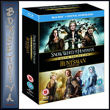 SNOW WHITE AND THE HUNTSMAN PLUS THE HUNTSMAN WINTERS WAR  *BRAND NEW BLURAY**