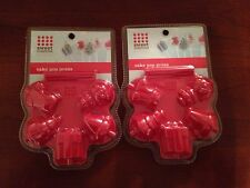 Sweet Creations Holiday Christmas Cake Pop Press Set of 2 ~ Brand New (10 Molds)