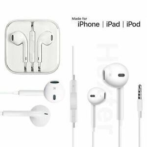 Earphones For iPhone 6 6s Plus 5 5s SE iPad Headphones Handsfree With Mic 3.5mm