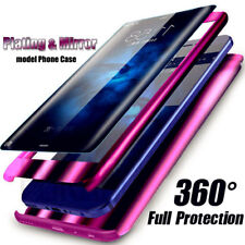 Luxury 360 Degree Plating Mirror Phone Case Cover For Samsung Galaxy S9 S8 Plus
