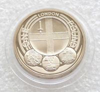 2010 Capital Cities of the UK London £1 One Pound Coin Brilliant Uncirculated