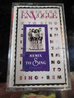 En Vogue - Remix to Sing cassette tape rare