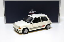1:18 NOREV renault supercinq gt turbo 1989 panda white New chez premium-MODELCARS