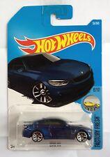 Hot Wheels BMW M4 - blue metallic