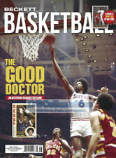 BECKETT BASKETBALL MONTHLY MAGAZINE AUGUST 2020 ISSUE #335 PRICE GUIDE NEW DR J!