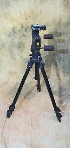 Manfrotto Professional Tripod 055CB with 029 Pan and Tilt Head