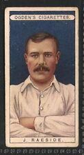 OGDENS, Famous Footballers, J RAESIDE, BURY, No.41, VG, 1908