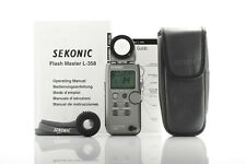 Sekonic L358 Flash Master light meter in excellent condition